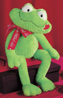 Prince Kiss-A-Lot Large - 16'' Frog by Gund