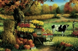 Cobble Hill Children's Puzzles - Countryside Stand