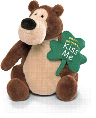 Kiss Me Goober with Sound - 5.5'' Bear by Gund