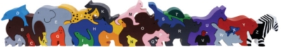 Alphabet Parade - 26pc EcoFriendly Wooden Puzzle by Imagiplay