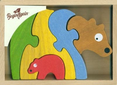 Children's Puzzles - Bear Family