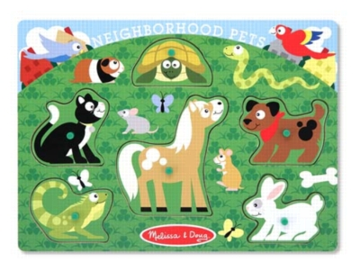 Children's Puzzles - Neighborhood Pets