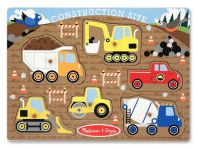 Children's Puzzles - Construction Site