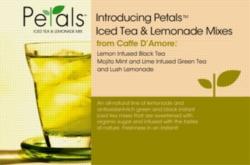 Caffe D'Amore Petals Iced Tea & Lemonade - 2.5 lb. Bulk Bag Case