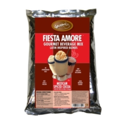 Caffe D'Amore Bellagio Mexican Spiced Cocoa - 2 lb. Bulk Bag Case