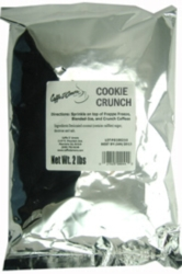 Caffe D'Amore Crunch Topping: Cookie Crunch - 2 lb. Bulk Bag Case
