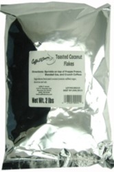 Caffe D'Amore Crunch Topping: Toasted Coconut - 2 lb. Bulk Bag Case