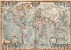 Educa Jigsaw Puzzles - The World Executive Map