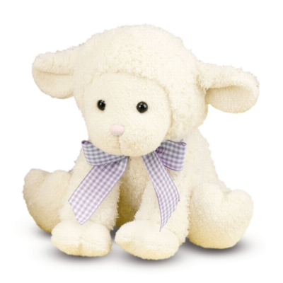 "Meadow Medley Lamby - 9"" Lamb By Melissa & Doug"