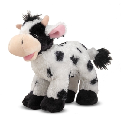 "Checkers Cow - 10"" Cow By Melissa & Doug"
