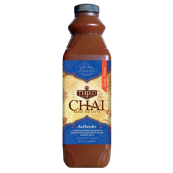 Third Street Chai, 1:1 Concentrate - 32oz Bottle Assorted Case