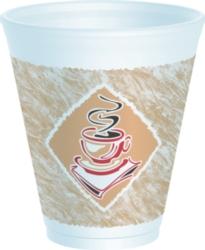Dart - Espresso Foam Cup, 12oz, 12X16G, 1000/cs