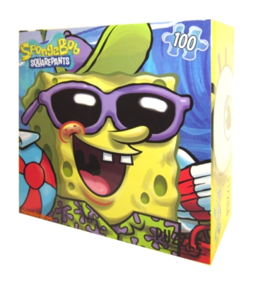 Spongebob Squarepants: Beach Bums - 100pc Jigsaw Puzzle