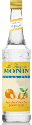 Monin O'free Sugar Free Flavored Syrups - 1L Plastic Bottle Assorted Case
