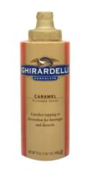 Ghirardelli Caramel Sauce - 12 fl. oz. Squeeze Bottle Case