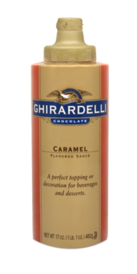 Ghirardelli Caramel Sauce - 12 fl. oz. Squeeze Bottle