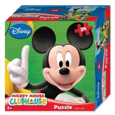 Disney: Mickey Mouse - 24pc Jigsaw Puzzle