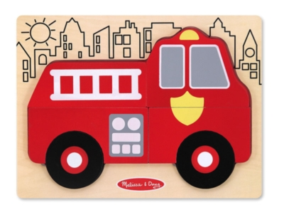 Children's Puzzles - My First Chunky Puzzle: Fire Truck