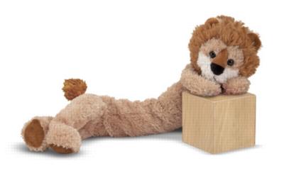 "Longfellow Lion - 20"" Lion by Melissa & Doug"
