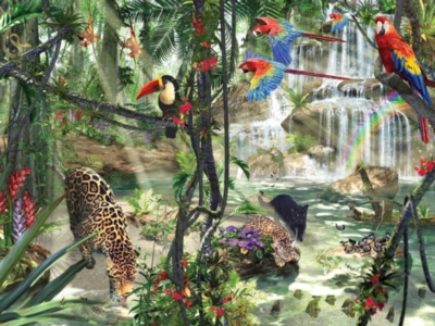 Tropical - 1000pc Jigsaw Puzzle by Ravensburger
