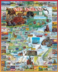 Hard Jigsaw Puzzles - The Best of New England