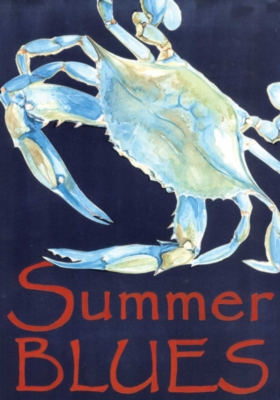 Summer Blues - Standard Flag by Toland