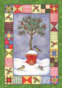 Holly Topiary - Garden Flag by Toland