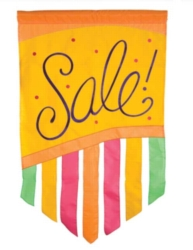 Sale! - Garden Applique Flag by Toland