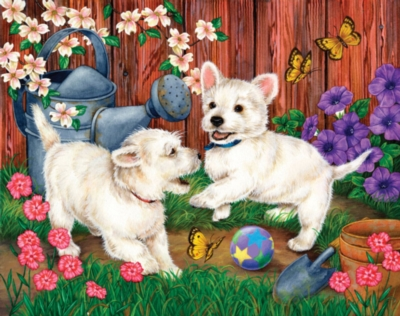 Backyard Fun - 500pc Jigsaw Puzzle by Great American Puzzle Factory