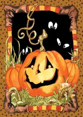 Jack Pumpkin - Garden Flag by Toland
