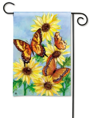 Butterfly Meadow - Garden Flag by Magnet Works