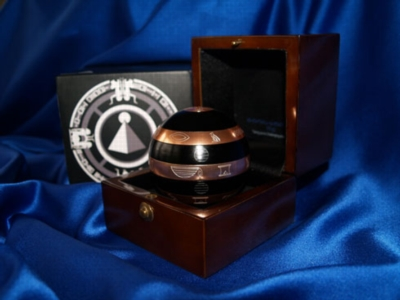 ISIS (Black & Copper Limited Edition) - Metal Brain Teaser w\ Wooden Box