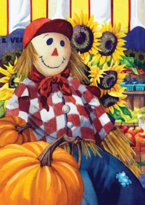 Fall Farm Stand - Standard Flag by Toland