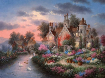 Jigsaw Puzzles - Mill Creek Manor