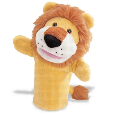 Lion Sound Puppet - 12.5'' Lion by Gund