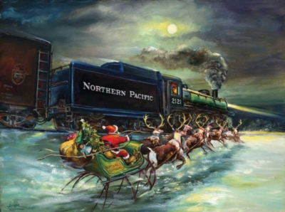 Jigsaw Puzzles - North Pole Express