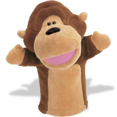 Gorilla Sound Puppet - 12.5'' Gorilla by Gund