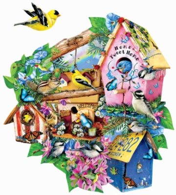 Shaped Jigsaw Puzzles - Out to Lunch