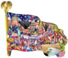 Freedom Parade - 1000pc Shaped Jigsaw Puzzle By Sunsout