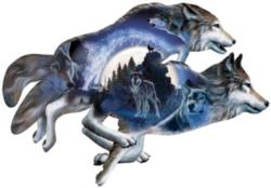 Wolf Puzzles - Moonlight Warrior