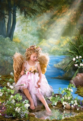 Spring Puzzles - Golden Pond