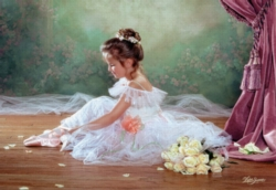 Jigsaw Puzzles - Peaceful Ballerina