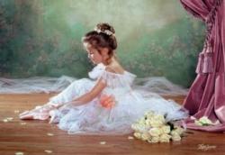 Jigsaw Puzzles - Peaceful Ballerina