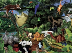 Cobble Hill Jigsaw Puzzles - Noah's Gathering