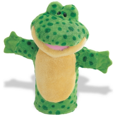 Frog Sound Puppet - 12.5'' Frog by Gund