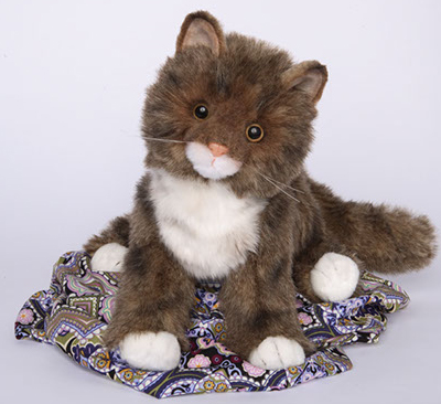 """Davey - 16"""" Maine Coon Cat by Douglas Cuddle Toys"""