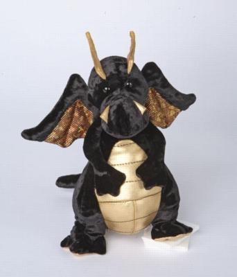 """Merlin - 9"""" Dragon By Douglas Cuddle Toy"""