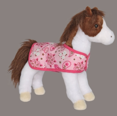 "Daphne Pinto - 11"" Horse By Douglas Cuddle Toy"