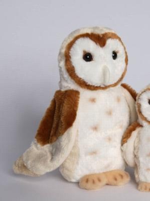 """Luna Barn Owl - 11"""" Owl By Douglas Cuddle Toy"""