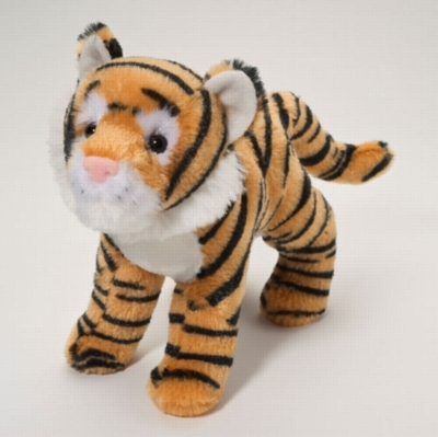 "Lava - 8"" Tiger By Douglas Cuddle Toy"